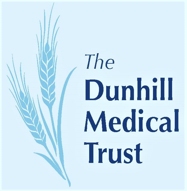 Dunhill Medical Trust Logo. Sponsor